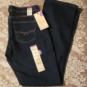 Wrangler Q-Baby Stretch Mid Rise Jeans 11/12  NWT